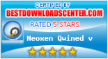 5 Stars Award from bestdownloadscenter.com
