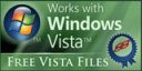 Works with Windows Vista Award from freevistafiles.com