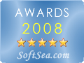 5 Stars from SoftSea.com