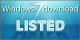 Listed in Windows 7 downloads