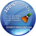 Verified completely clean by geardownload.com