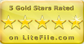 5 Stars from litefile.com