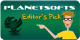 Editor's Pick by planetsoft.com