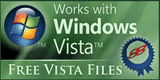 Works with Windows Vista by freevistafiles.com